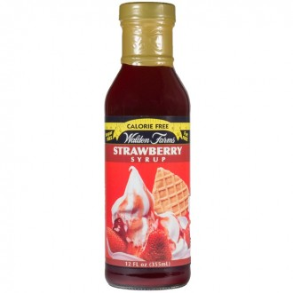 Walden Farms – Strawberry Syrup - 355 ml - Flasche