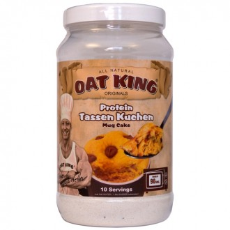 OatKing - Protein Tassen Kuchen - 500 gr - Chocolate Chip Cheesecake