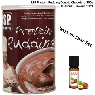 Haselnuss-Protein-Pudding - Set