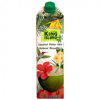 King Island - Coconut Water - 100 % - 1 Liter