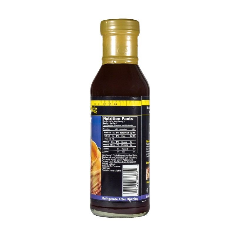 Walden Farms – Blueberry Syrup - 355 ml - Flasche