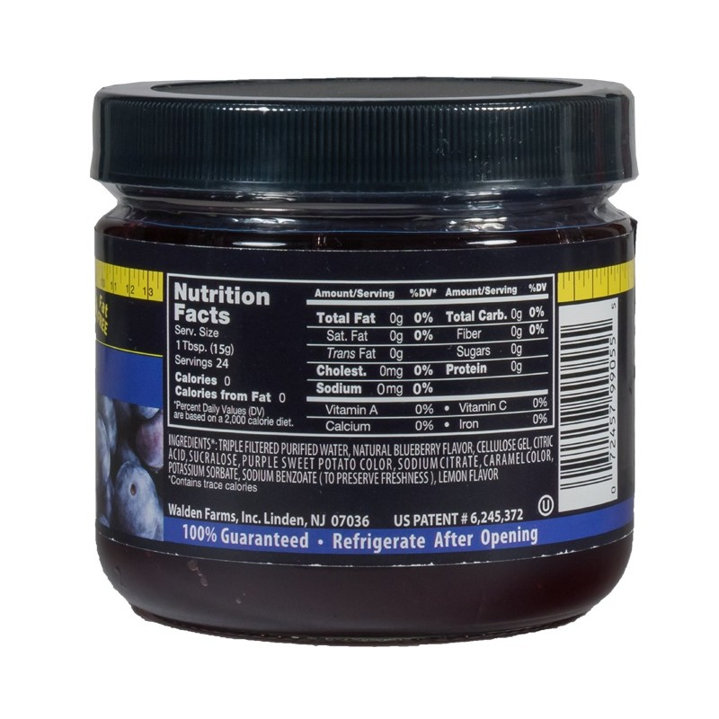 Walden Farms – Blueberry Fruit Spread 340g (12 OZ)