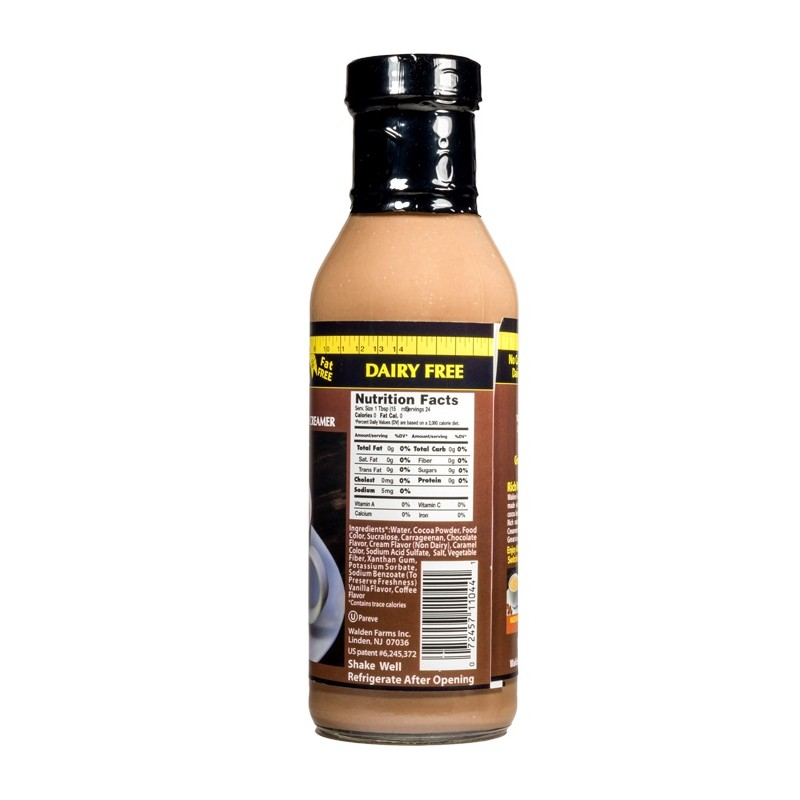 Walden Farms – Coffee Creamer - Mocha - 355 ml - Flasche