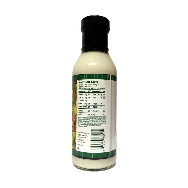 Walden Farms - Coleslaw Dressing - 355 ml Flasche