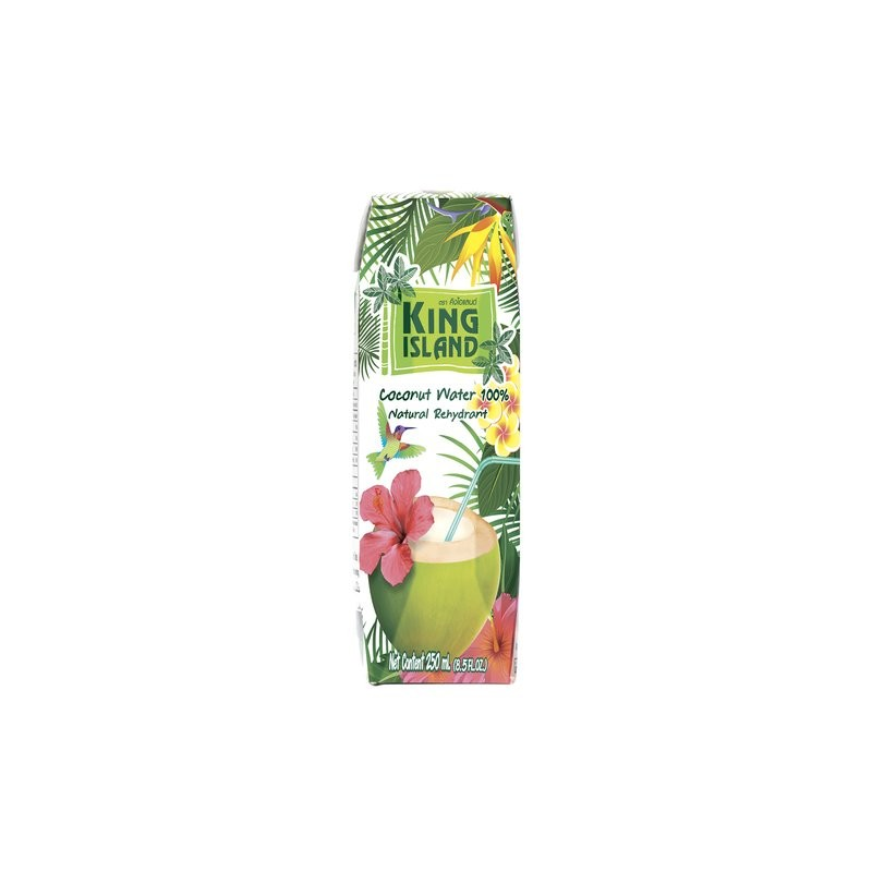 King Island - Coconut Water 100% - 250ml