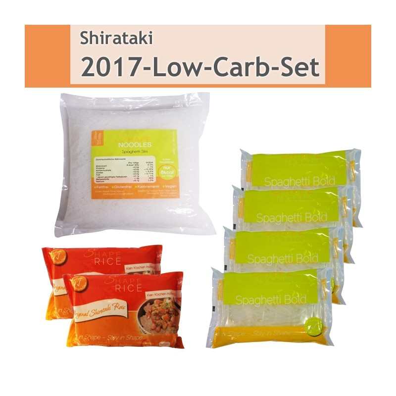 Shirataki - 2017-Low-Carb-Set