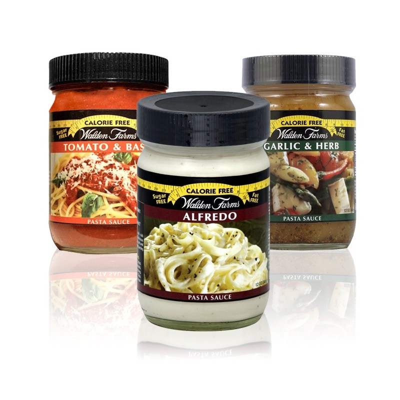 Walden Farms - Pasta Saucen Set - 3 x 340 gr.