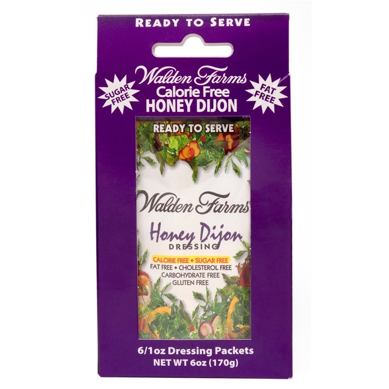 Walden Farms - Honey Dijon Dressing 6 x 28g = 168g (6 OZ)
