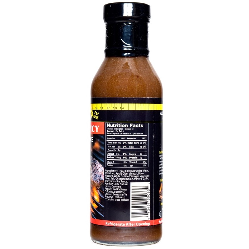 Walden Farms – Thick & Spicy Barbecue Sauce 340g (12 OZ)