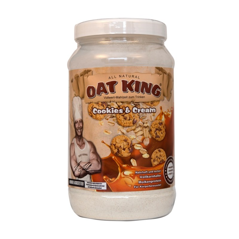 OAT KING Trinknahrung – Cookies & Cream 600g